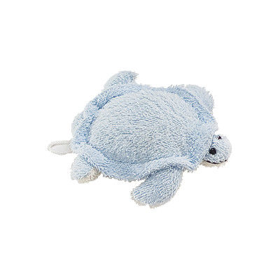 China Blue Tortoise Ramie Kids Bath Mitt Home With Gentle Exfoliating supplier