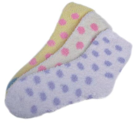 China Warm soft Aloe Infused SPA Socks 21x13x8.5 cm 99%Polyester Material supplier