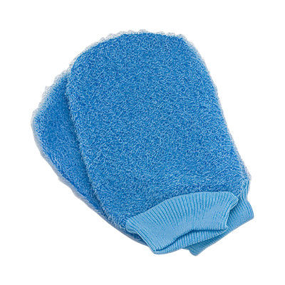 Body Scrubbing Exfoliating Bath Gloves For Dry Skin Spa Bath Shower