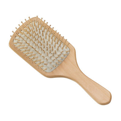 Big Square Wooden Scalp Massage Comb Hair Brush 23×7×3.6 cm For Man