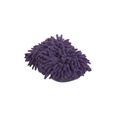 Colored Microfiber Cleaning Products Household Shower Scrubber 19X11X7 CM